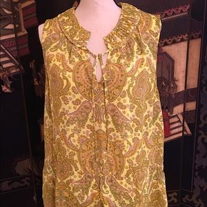 Banana Republic Paisley Blouse or Shell